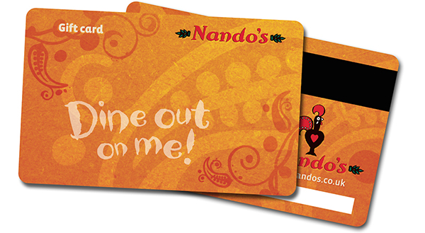 Win A 100 Nandos Gift Card Free Stuff
